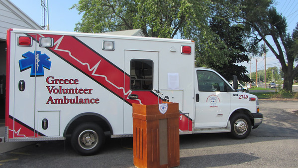 Dedication of Greece Ambulance