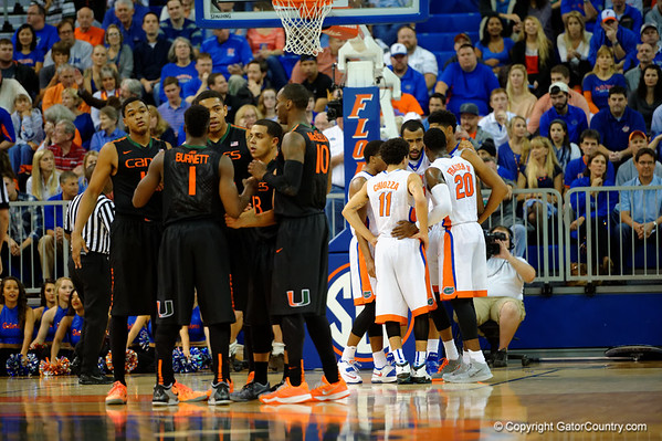 Super Gallery - Gators vs Miami Hurricanes mens basketball  11-18-2014
