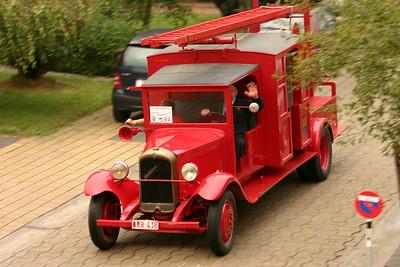 Brandweer Temse - Oldtimer parade