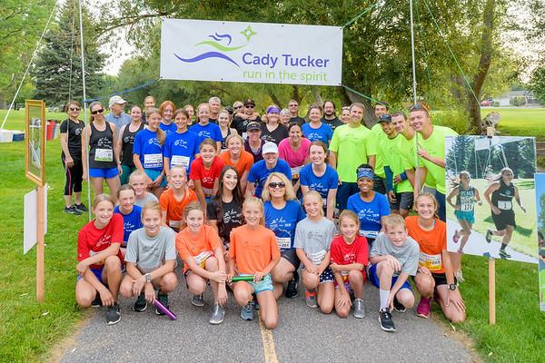 Cady Tucker run in the spirit