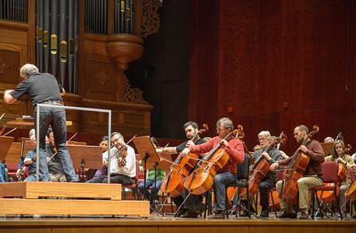 Chicago Symphony Rehearsals in Asia 2013