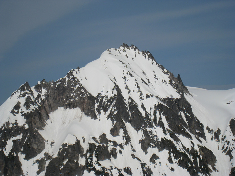 Mt Cayley is the next volcanic remnant after Garibaldi.
