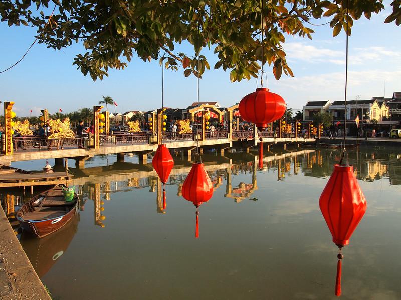 Thu Bồn River in Hoi An