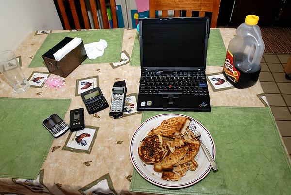 6/22/08 My breakfast