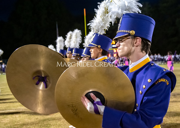 Broughton varsity football vs Cardinal Gibbons. Band and Dance Team Senior Night. October 25, 2019. MRC_3681