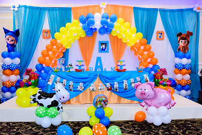 Aryan's 1st birthday