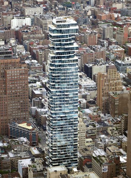 56 Leonard Street seen from 1 WTC