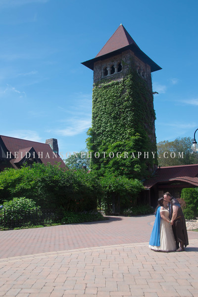 Heather and Bryan | Saint Clements Castle | Heidi Hanson Photography
