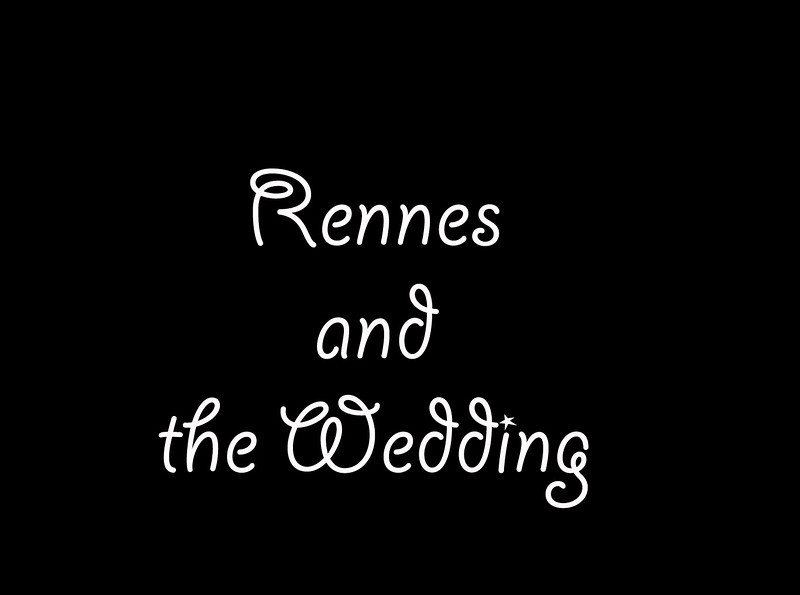We were  happily invited to come Rennes for the wedding of Regis Hautier. Regis was an exchange student and stayed with us for two summers when he was 15 and 16. His parents graciously invited us to stay with them, and we accepted!