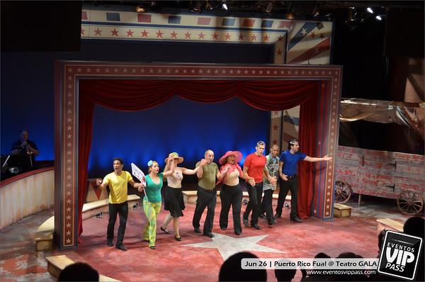 Puerto Rico Fua! @ Teatro GALA | Thu, Jun 26