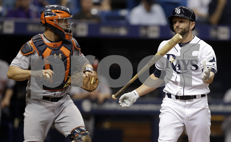 2-run, 10th inning leads Astros past Rays 6-4