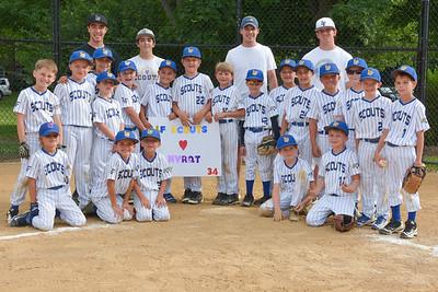 Lake Forest Baseball Association 8u Blue and Gold Game