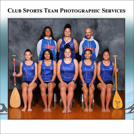 Club Sports Team Photographic Services