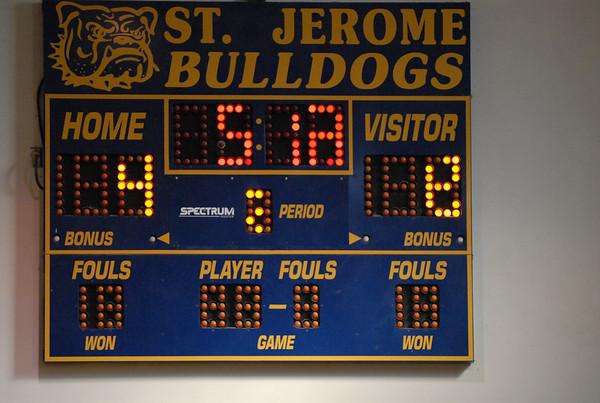 St. Francis basketball - 01/19/2008