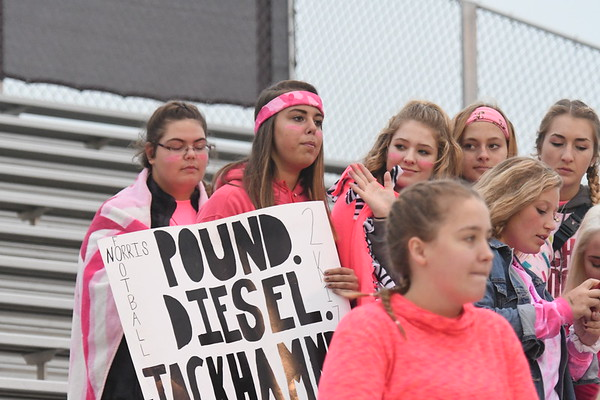 Student Crowd - Waverly Football game
