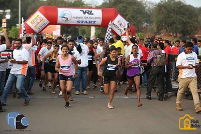 Hubballi 10K run 2016