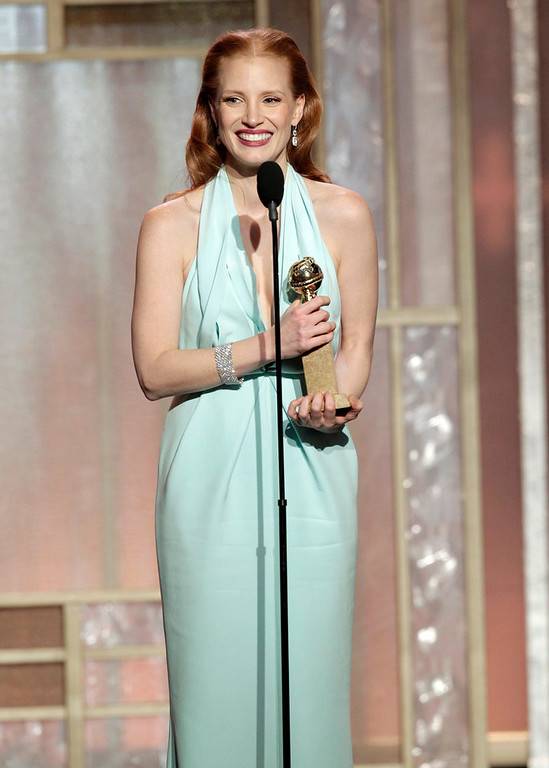 . Best Actress in a Motion Picture - Drama: Jessica Chastain, Zero Dark Thirty