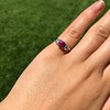 1.71ctw Ruby and Diamond Trilogy Ring 30