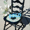 Black Ladder Back Chair