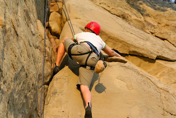 Rock Climbing the Rims