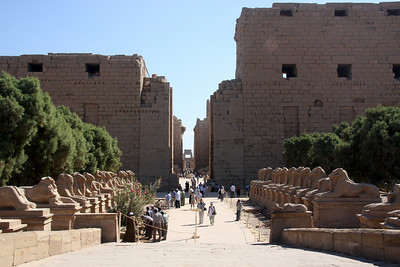 Luxor, Temple of Karnak, Egypt
