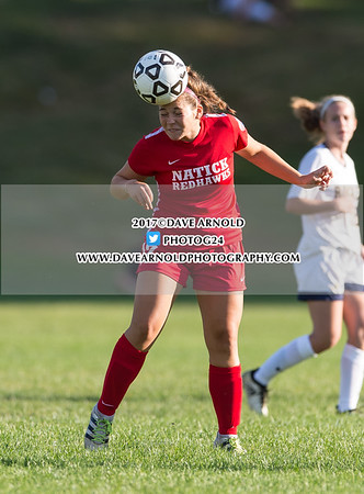 9/7/2017 - Girls Varsity Soccer - Natick vs Needham