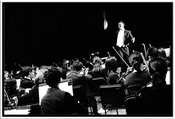 "Backstage View  Encore: ""Victors""  W2007 ""Pops in Paris"" Concert in Michigan Theatre  John Zastoupil, music director Michigan Pops Orchestra  01-APR-2007"