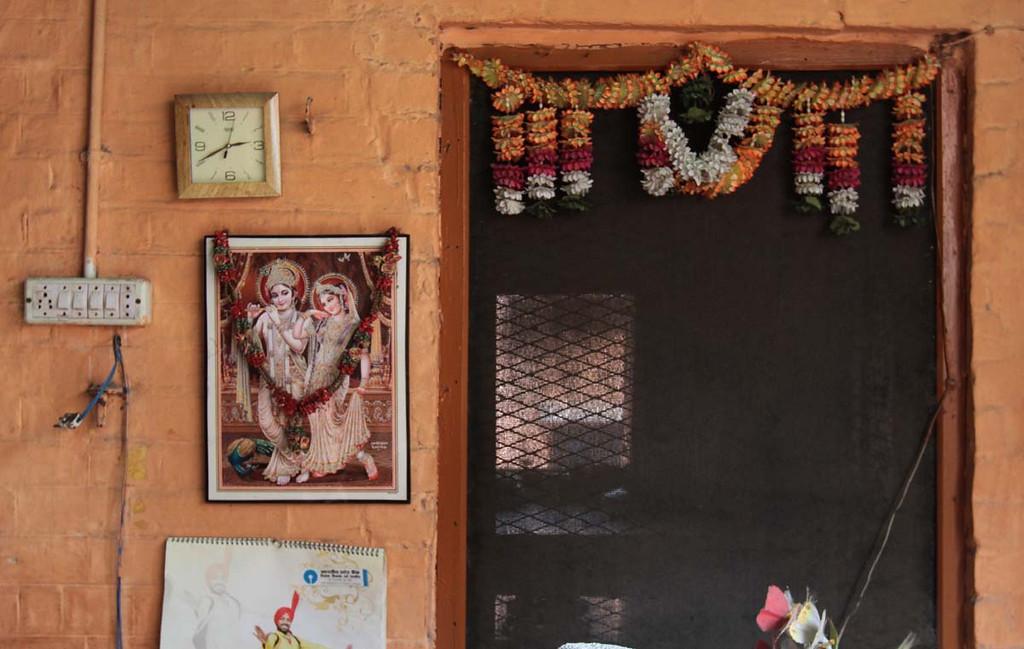 . Arti ceremony at Hari Kapari in Haridwar, India. Shmuel Thaler/Sentinel