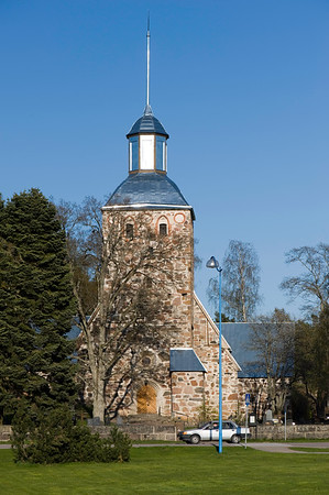 Medieval church, Korppoo, Turunmaa Archipelago, Baltic Sea, Finland