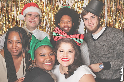 12-21-19 Atlanta Georgia Institute of Technology Photo Booth - Horizons Atlanta Holiday Party - Robot Booth