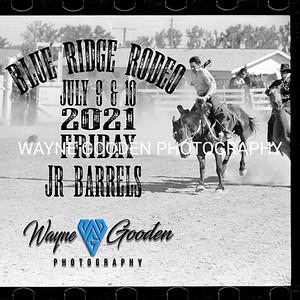 Friday Night Jr Barrel Racing