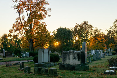 Forest Cemetery - Fall Colors 2019