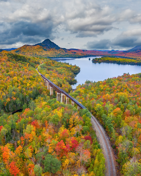 Fall at the trestle