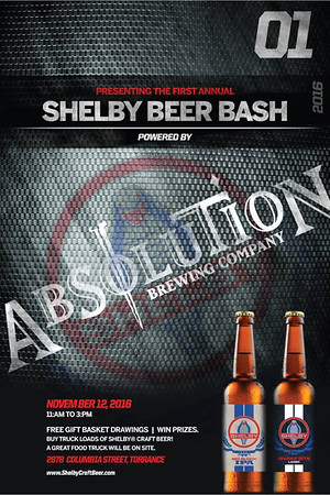 Shelby Beer Bash 2016