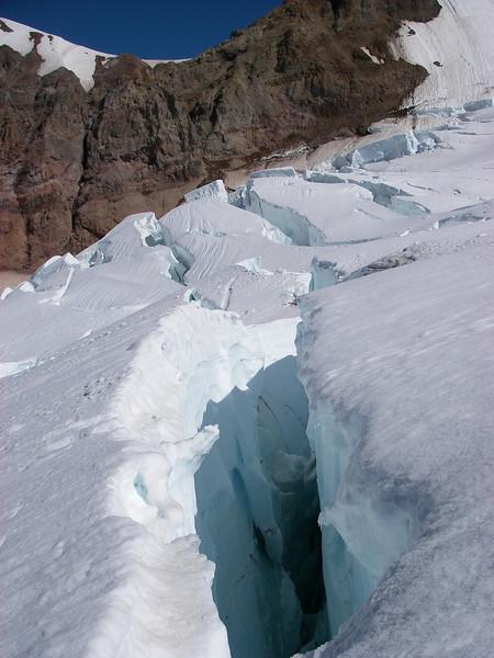 Tahoma Glacier crevasses 8