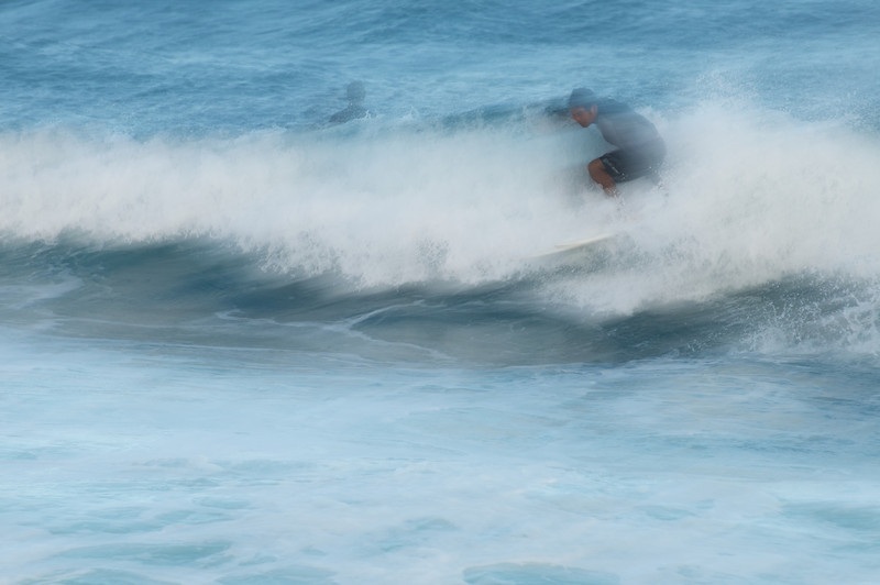 Riding the Wild Surf