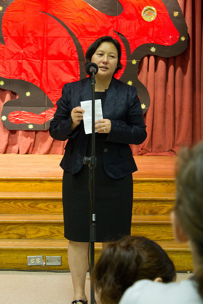 董事長致詞 - 禇佳霓 (Remarks from school board chair Dr. Jia-Ni Chu)