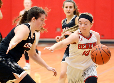 Chardon at Geneva girls basketball 1/14-19