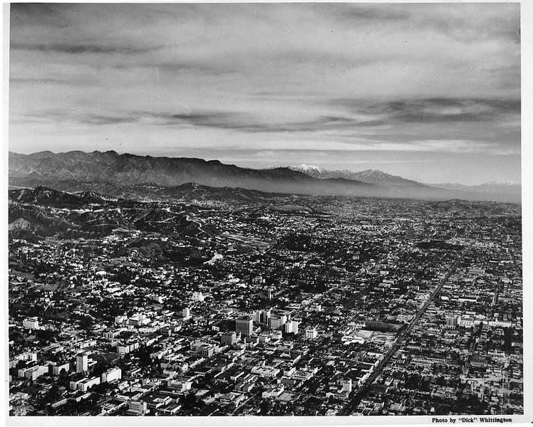 East Hollywood Aerial