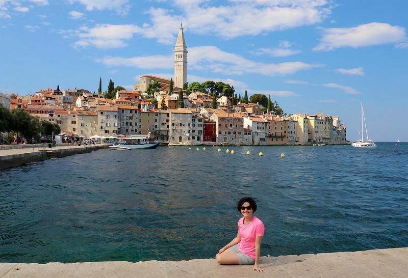 The heavily Italian-influenced fishing town of Rovinj, Croatia