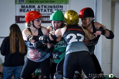 2019-03-09 Cherry City Boneyard Brawlers v Coeur d'Alene