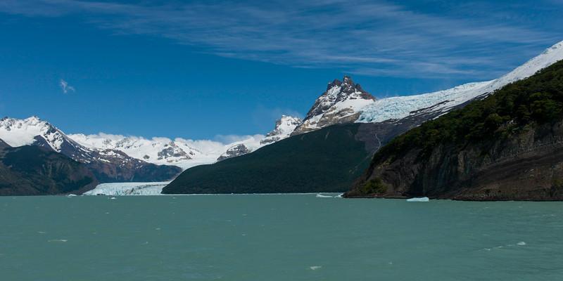 View of the Lake Argentino, Santa Cruz Province, Patagonia, Argentina