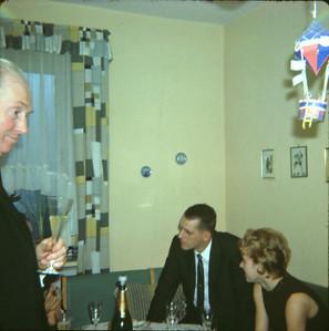 1964 Dave's und Ingrid's Verlobung Dez. 64