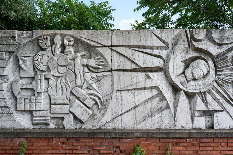 Memento Park in Budapest