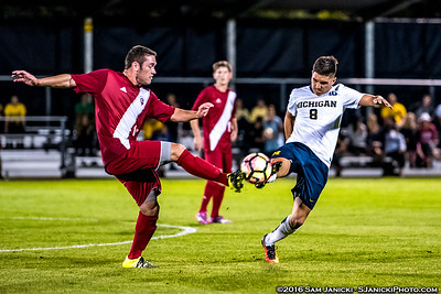 9-14-16 Michigan Men's Soccer Vs Indiana
