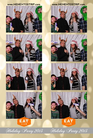 Eatclub Holiday Party 2015