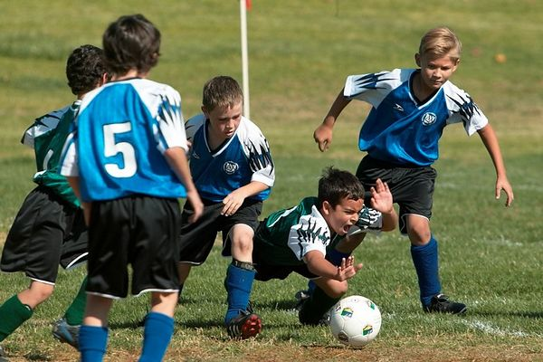 Soccer Playoffs Game 1 11/19/2004