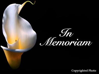 *In Memoriam