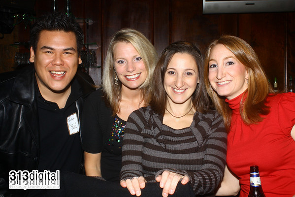 313 Digital Holiday Social Escape sponsored by interclick at Four Green Fields