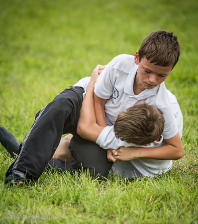Aberfeldy Highland Games 2013  -  Junior Backhold Wrestling